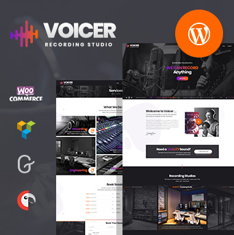 Wordpress Theme, Voicer